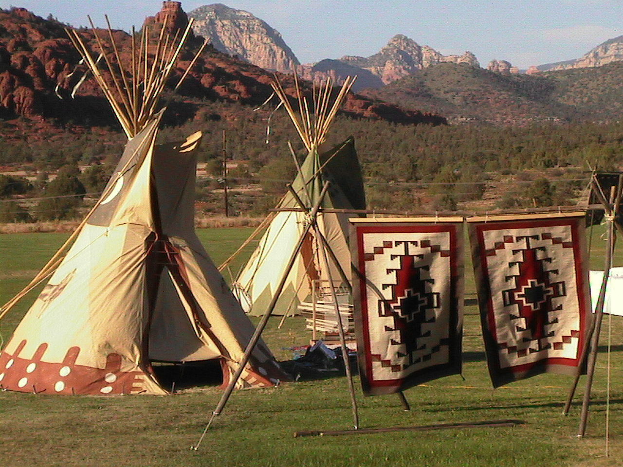 Native American Village, View From Verde Valley School, Image Provided By Show Stoppers