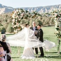 Mariana and Nathan's Romantic Wedding At Seven Canyons